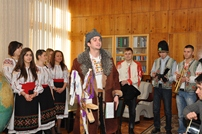 Carol Singers at the Ministry of Defense