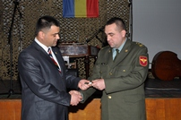 National Army Servicemen Awarded for Work Performance