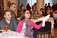 Celebration with magicians for children of the military personnel
