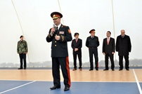 "The Minister of Defense had a meeting  with the pupils from the  Moldovan-Turkish High School ""Horizont"""