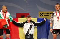 LT Oleg Sirghi Wins First Gold Medal at European Weightlifting Championship