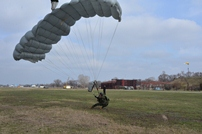 Special Forces Paratroopers Make Parachute Jumps