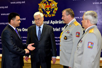 Moldovan-Ukrainian Meeting at the Ministry of Defense