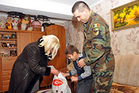 National Army Supports Disabled Children