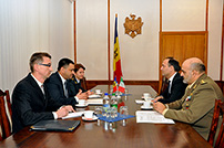 Moldovan-Italian Meeting at the Ministry of Defense