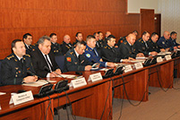 National Army Presents 2013 Activity Report