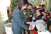 Ministry of Defense Makes Christmas Gifts