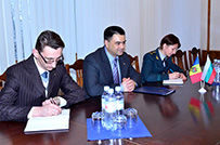 Bulgarian Ambassador Visits Ministry of Defense at the End of Mandate