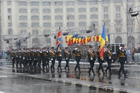 National Army Contingent Participates in Military Parade in Bucharest