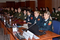 Military Psychologists and Chaplains Meet at the Ministry of Defense