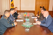 Minister of Defense Anatol Salaru Meets with Ambassador of Turkey Mehmet Selim Karta and the New Military Attaché Can Sabitay