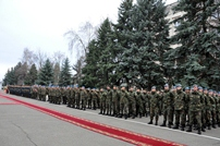 A New National Army Contingent Leaves for Kosovo