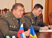 Minister of Defense Meets with Military Attaché of Russian Federation