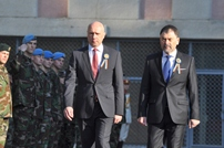 Pavel Filip Attends the Ceremony Dedicated to the National Flag Day