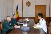 Japan Assigns New Military Attaché to the Republic of Moldova