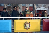Soldiers Take Military Oath