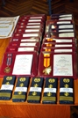 Medals for National Army Service Members at the End of the Yearn