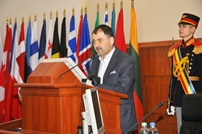 Anatol Salaru - Farewell Meeting with National Army Service Members