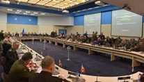 Brigadier General Igor Cutie Attends NATO Military Committee in Chiefs of Defense Session in Brussels