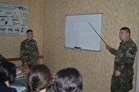 Junior Leaders Training Course Organized in Cahul