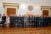 "The Book ""Omagiu şi recunoştinţă"" (Tribute and Gratitude) is Launched at Center of Military History and Culture"