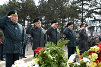 National Army Service Members Attend the Remembrance Day Events
