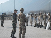 KFOR-VI Service Members on Duty in Kosovo Mission