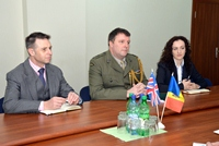 Military Attaché of United Kingdom Ends His Mandate in Chisinau
