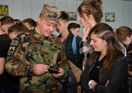 National Army Engineers Mark the International Day for Mine Awareness