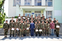 Military Students Win the Defense Minister's Cup