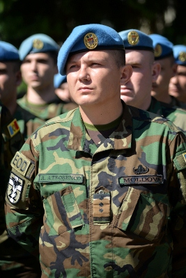 Moldova deploys 7th contingent for KFOR-7 peacekeeping