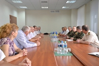 Moldovan-Romanian Meeting at Ministry of Defense