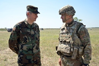 American Military Official Visits Republic of Moldova