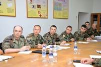 Logistics Planning Studied by National Army Service Members