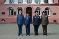 Deputy Defense Minister Pays Official Visit to Ukraine