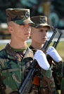 Military Students Take Military Oath