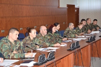 National Army Staff Trained on Building Integrity in Peace Support Operations