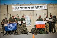 Moldovan Peacekeeper from KFOR – 2nd Place in Dancon March