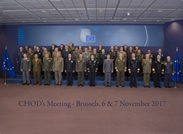 National Army Commander at the EU Military Committee Meeting