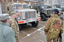 The Defense Attaches Pay a Fact-finding Visit to National Army Peacekeepers