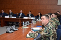 Students from US Air War College Visit the Ministry of Defense