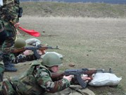 Shooting Drills in Balti, Cahul, and Chisinau Garrisons
