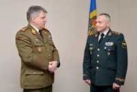 Chief of Defense of Lithuania Pays Official Visit to Chisinau