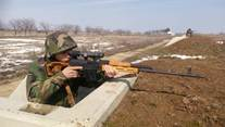 Military Students Conduct Shooting Drills in Bulboaca