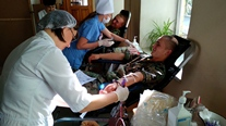 National Army Military Donate Blood