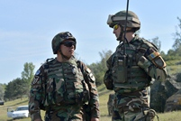 National Army Service Members Conduct Tactical Exercise