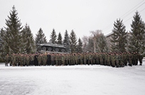 "About 200 Soldiers from ""Dacia"" Brigade Wish to Become Professional Service Members"