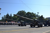 Military Parade Starts in Marii Adunari Nationale Square !