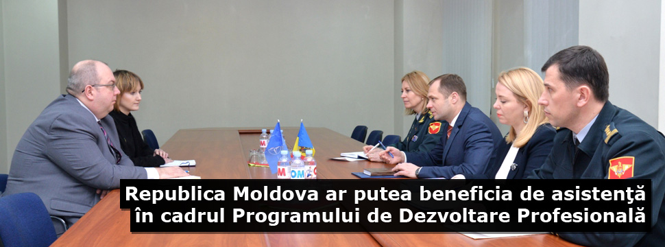 Republic of Moldova Could Benefit from Assistance within the Professional Development Programme